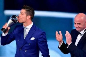 Cristiano Ronaldo, primer The Best