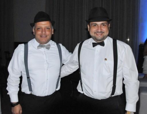 Carlos Castillo y Julio Castro Andonie.