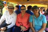 Pareja presidencial hace turismo en Refugio de Vida Silvestre de Cuero y Salado