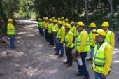 DIMA intensifica trabajos de vigilancia en la cordillera El Merendón