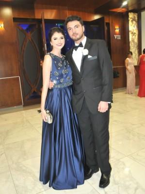 Cristina y Luciano Milla, hermanos de la novia