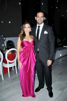 Daniela Beltran de Calix y su esposo, Julio Calix