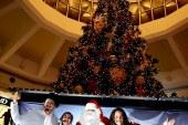 Mall Multiplaza ilumina la navidad sampedrana