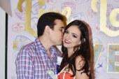 Melvin y Marcela celebran el amor en su despedida de solteros