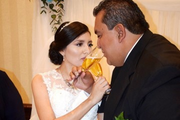 La boda de Jorge y Oneyda…El amor conquistó sus corazones