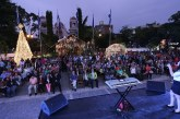 Inauguran colorido Nacimiento en el Parque Central de San Pedro Sula