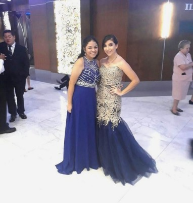Ashley Jovel y Paola Herrera