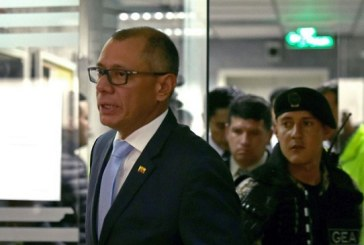 Seis años de cárcel para vicepresidente de Ecuador por caso Odebrecht