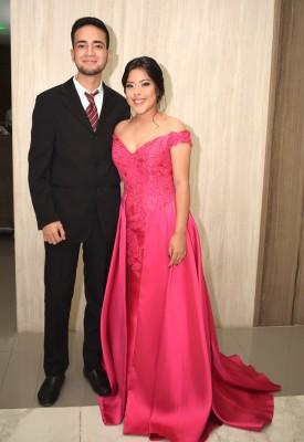 Fernando Salgado y Sindy Lagos.