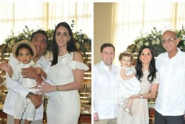 Doble celebración bautismal para Onías y Sophia