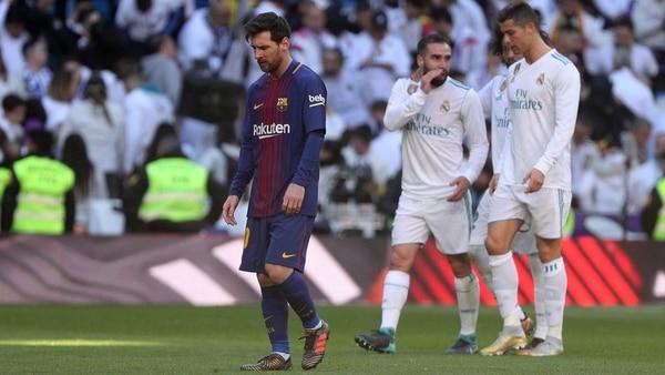 Por insultos contra Messi y Piqué la Liga de España podría sancionar al Real Madrid