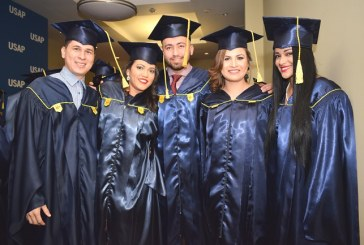 Graduación de la USAP abre con mucho optimismo el 2018