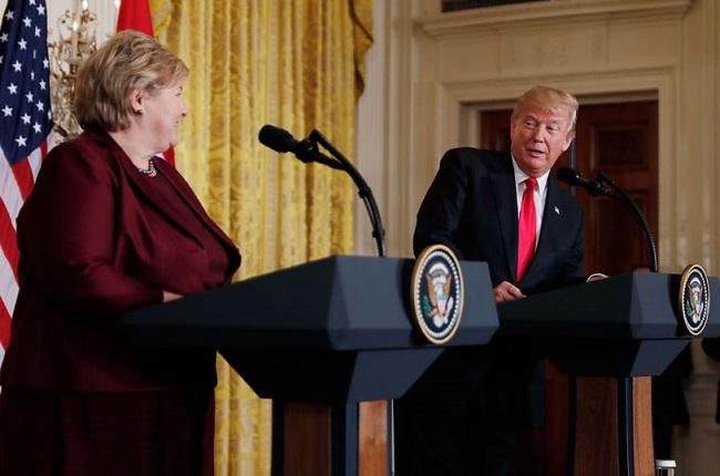 Trump entregará aviones de combate a Noruega que sólo existen en… ¡videojuego!
