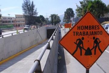 Casi terminados túneles de la 27 y 28 calle sobre el Bulevar del sur de San Pedro Sula