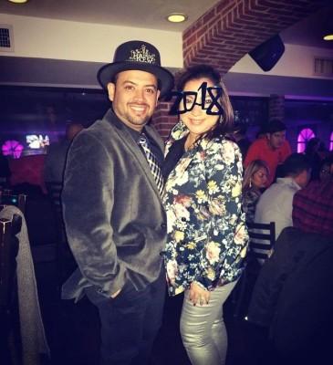 Farita y Jhonston Arauz en New Jersey