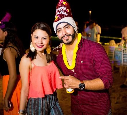 Michelle Soriano y Axel Fernando Aguilar