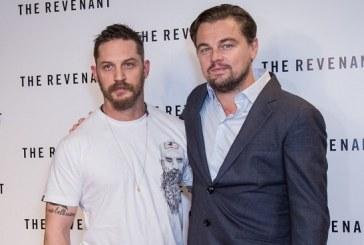 El humillante tatuaje de Tom Hardy para cumplirle apuesta a Leonardo DiCaprio