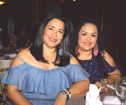 Karina Pinto y Vivian Gallardo