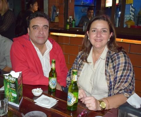 Marco Montenegro y Carola Mestayer