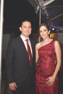 Óscar Bueso y Jane Larach