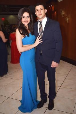 Alexandra Zgheibra y Daniel Pitxicali
