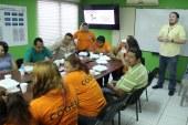 Comités de Emergencia locales son capacitados para prevenir incendios en barrios y colonias