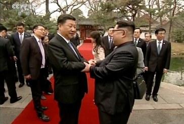 Corea del Norte y China: sonrisas y brindis con dedicatoria para EEUU