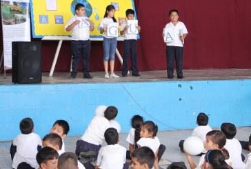 En el Día Mundial del Agua enseñan el uso responsable a más de 250 escolares sampedranos