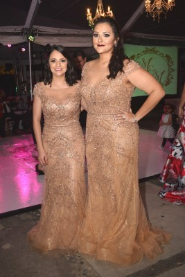 Gabriela Juárez y Melissa Midence