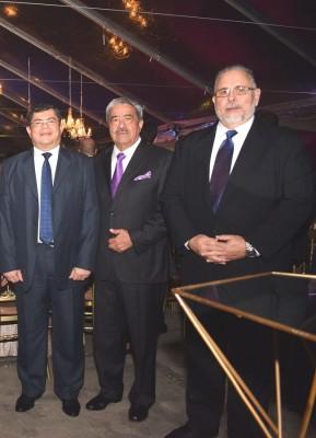 Héctor Leonel Ayala, Rafael Flores y Héctor Guillen