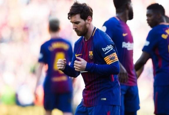El baile de Leonel Messi conel que festejó la victoria del Barcelona se volvió viral en las redes
