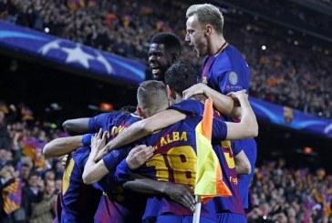 Con un doblete Messi llega a los 100 goles en la Liga de Campeones y el Barcelona avanzó a cuartos