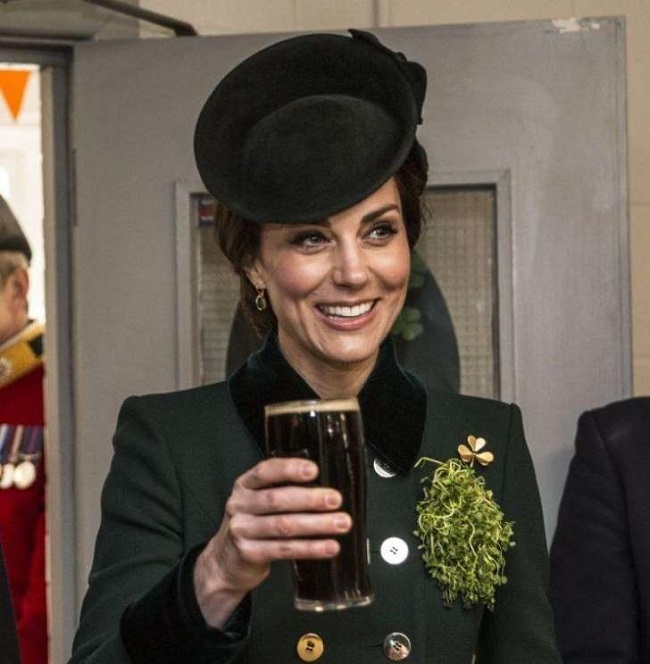 Curioso detalle en los dedos de Kate Middleton