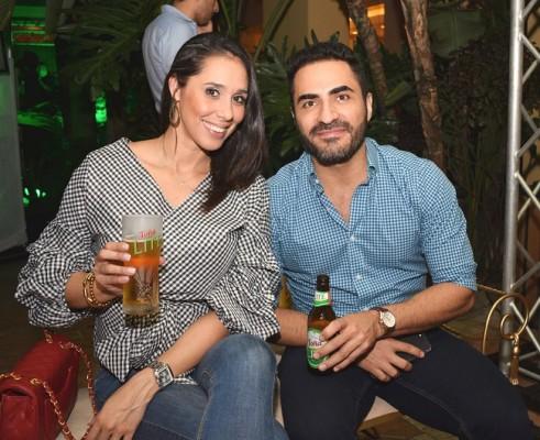 Wendy Enamorado y Cesar Hernández