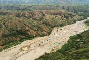 El río que desapareció por completo a causa del fenómeno del Niño y la minería