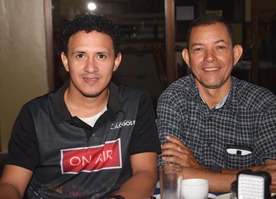 Adolfo Pineda y Santiago Solórzano