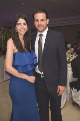 Andrea y David Monterroso.