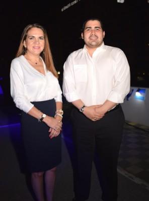 Denia Flores Gómez, Presidenta de CANATURH y Guillermo Orellana, Director actual de Turismo de la Municipalidad de San Pedro Sula