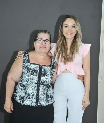 Dilcia López y Karen Anariba