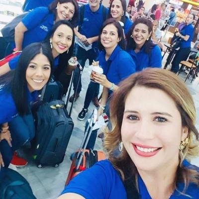 El team de corredoras de la mano de Sandra Dipalma