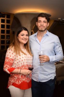 Fabiana Hadrych y Daniel Lesage