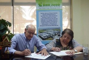 Fundación Merendón firma importante convenio con Zip San José
