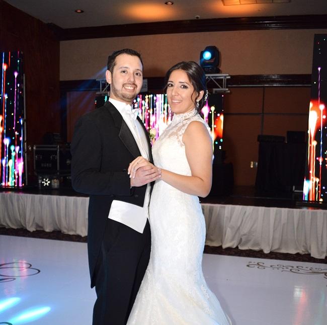 La boda de Gerardo y Martha…la vida enlazó sus corazones
