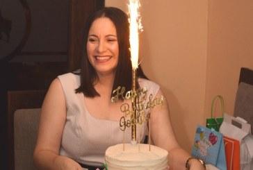Agasajan a Golda de Robleto en su cumpleaños