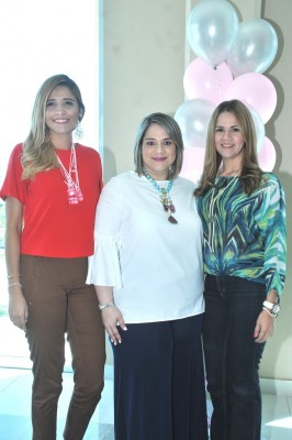 Jazmin López, Pamela Figueroa y Marielli Morales