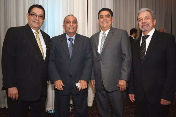 José Edgardo Valerio, Fuad Abufele, Héctor Valerio y Óscar Rodríguez