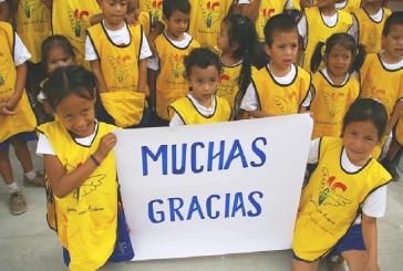 Grupo Jaremar y Club Chárter 100 Honduras de la mano con la educación infantil