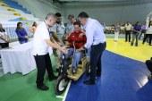 Personas discapacitadas son beneficiados con unidades móviles en San Pedro Sula