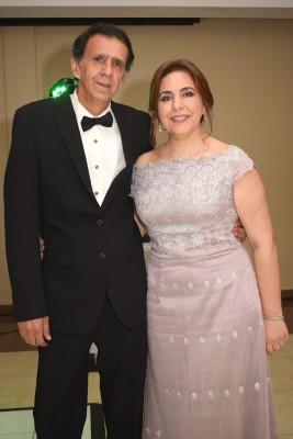 Los padres del novio Issa y Waffa Segebre