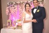 La boda de Sarah y David…un enlace inolvidable